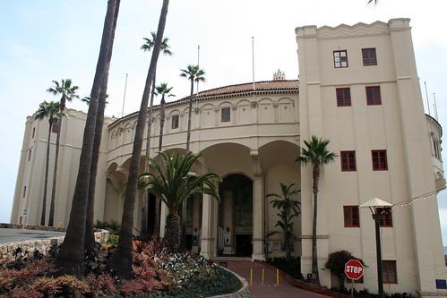 Catalina - Front of Casino