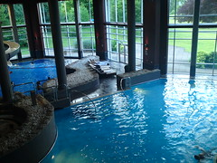 Illicit photies of pool in Cameron House (Musicmum) Tags: lochlomond maidoftheloch thecarrick colquhounmansionhouse