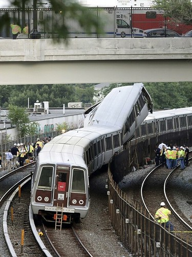 Fort  Totten WMATA train crash, 2009