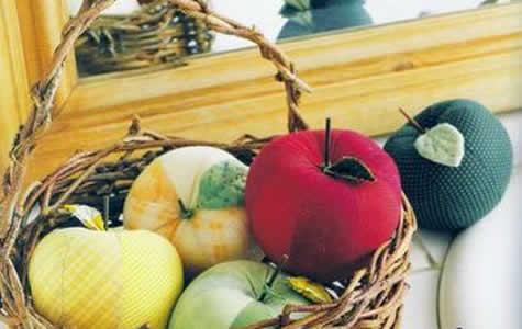 Frutas e Legumes de Tecido