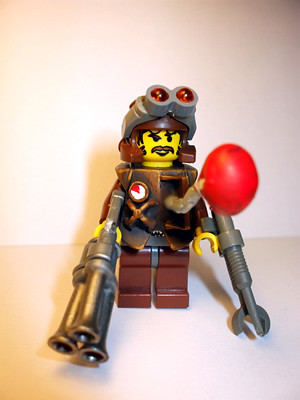 Mercenary Inventor custom  minifig