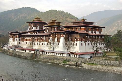 King's Memorial Chorten ,Thimphu Buthan