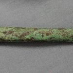 "<b>100.99HF01.1.90_b9</b><br/> Copper Tube, rolled Unknown Provenience<a href=""http://farm4.static.flickr.com/3408/4575236686_02589caaa1_o.jpg"" title=""High res"">∝</a>"