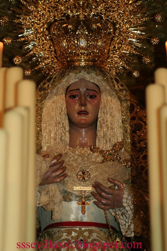 Nuestra Señora de los Desamparados, Martes Santo 2010