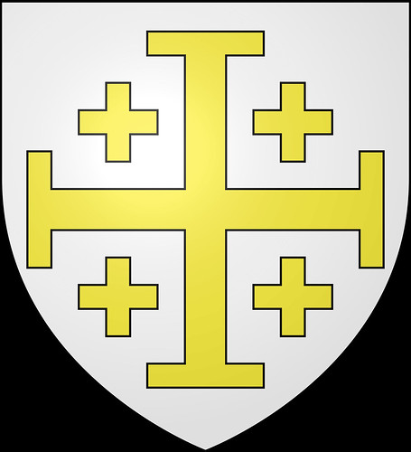 Crusader Knight c.1250 (Mounted) -  Andrea Miniatures 90mm 4621228132_b83ffa4d11