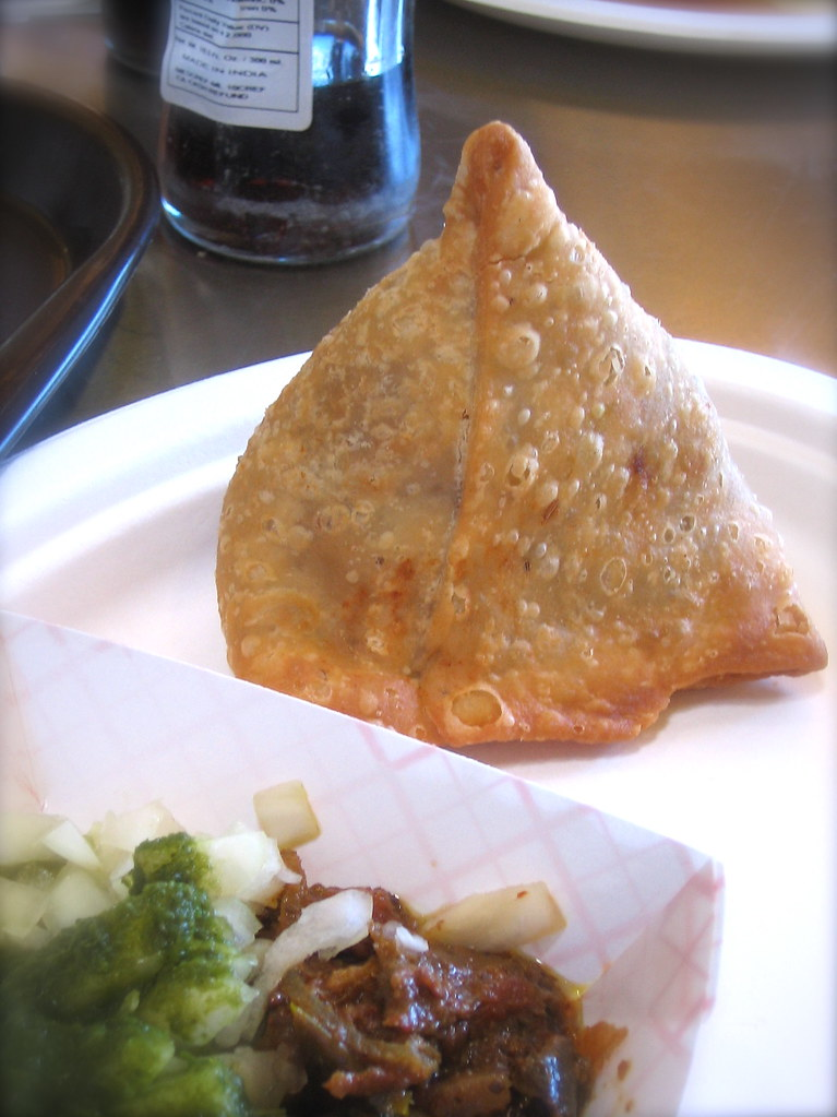 Samosa at Vik's Chaat in Berkeley