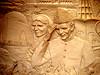 Jinnah Mural - Islamabad, Pakistan (PakPositive) Tags: pakistan sculpture monument collage metal bronze plaque carved artwork mural siblings carving engraving montage engraved islamabad jinnah pakpositive shakarparian quaideazam mohammadalijinnah fatimajinnah