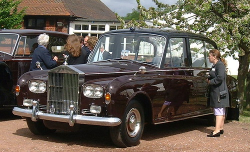 Rolls - Royce Phantom VI Wedding Car Kate Middleton