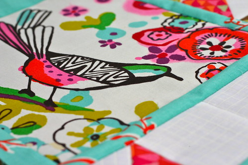 Spring Birds in Traditional Quilt Blocks
