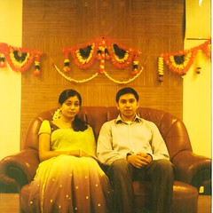 cousin and fiance-while-shoot, wife now. (bavan.prashant) Tags: