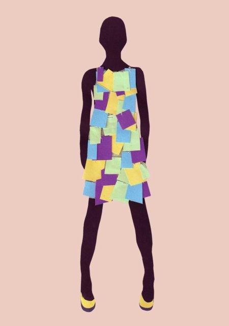 nu-post it dress
