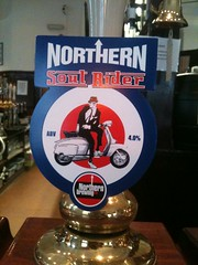 Nothern Soul Rider (wonker) Tags: art beer illustration design ale clip pump brewery soul pint rider bitter nothern alcahol pumpclip nothernsoulrider