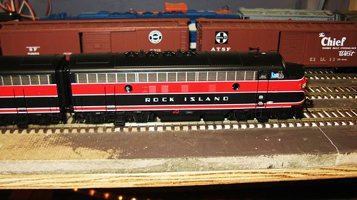 The Oak Park Society of Model Engineers H.O Scale Model Railroad Club.  Oak Park Illinois USA. June 2011. by Eddie from Chicago