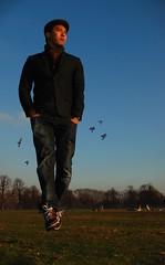 Walk the Air (Asrul Hazimin) Tags: levitation kensingtongardens airwalk