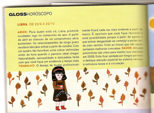 horóscopo 2009 para librianos revista gloss