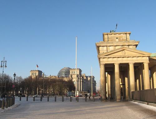 Berlim: Brandenburger Tor e Reichstag