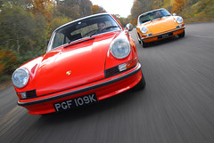 c911S and 911E for 911& Porsche World (michaelward_autoitalia) Tags: world autumn red orange moving 911 porsche rolling tracking mwp 911s 911e michaelwardphotos cartocar car2car