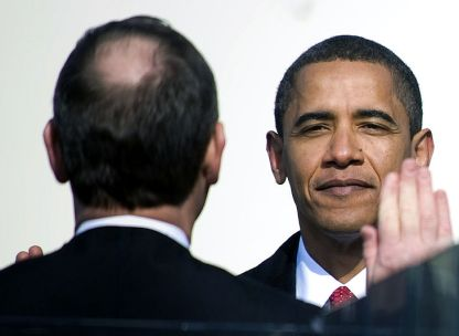 Barack Obama Takes The Oath of Office of President