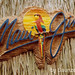 Maui Jim wood carved molded sign