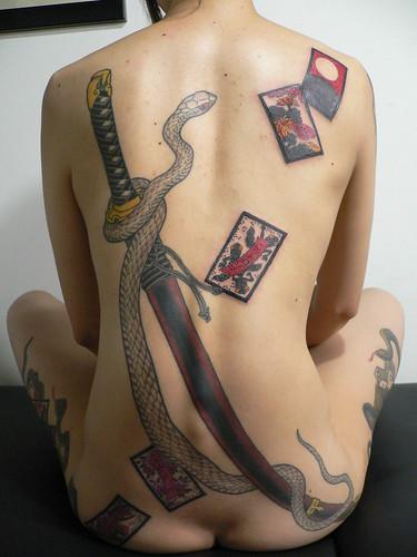 katana tattoo