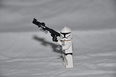 Custom DC-15 Blaster rifle (The Ranger of Awesomeness) Tags: lego wwii brickarms