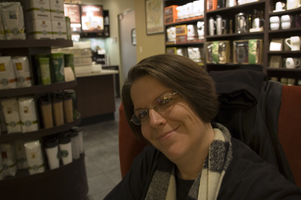 Diana at Starbucks