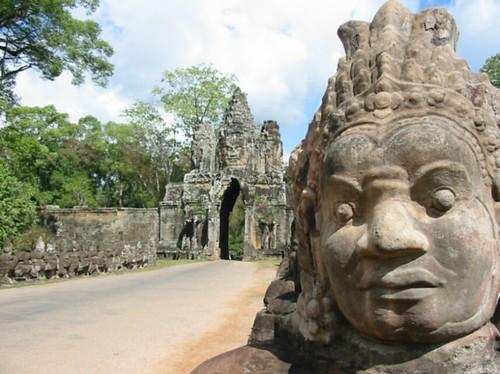 Toegangspoort tot Angkor Thom