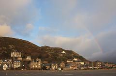 Rainbow over Barmouth