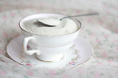 cupful (simple tess) Tags: food white english cup floral vegan day dress sweet girly feminine chiffon romance sugar thrift traderjoes fancy valentines 50s organic teacup whiteonwhite pinkish dainty spoonful teaspoon allwhite thrifted beetsugar