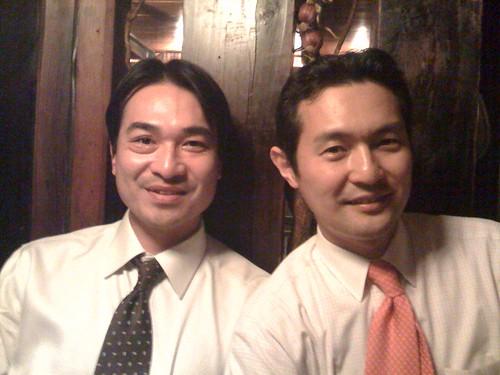 ゴルフ部先輩の室井さんと津島さん