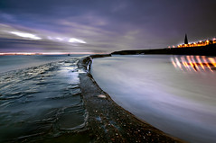 Cullercoats Bay (dan barron photography - landscape work) Tags: uk longexposure sea seascape photography coast northumberland cullercoats sigma1020mm nikond90 danbarron