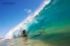 Dredz ( KristoforG) Tags: ocean beach water canon photography hawaii sand surf pacific sandy wave tsunami housing tidal gellert bodyboard bodysurf kristofor waterhousing