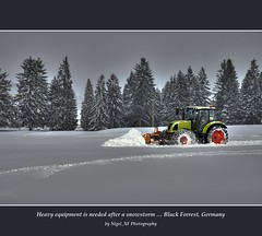 Heavy equipment is needed after a snowstorm ... Black Forrest, Germany (nigel_xf) Tags: schnee winter snow nikon d70s nikond70s nigel schwarzwald blackforrest sdschwarzwald flickraward platinumpeaceaward nigelxf