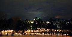 Hirosaki Castle, Hirosaki 03 - Japan 2009 (roger-dodger) Tags: japan candles lanterns hirosaki