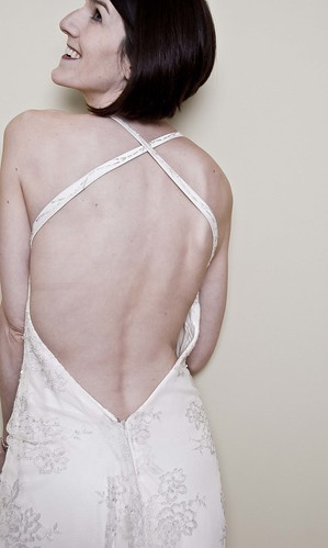 The Vintage Backless Wedding Dress