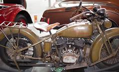 "ol"" Harley Davidson (D3 Photography) Tags: show old car 50mm nikon forsale f14 sigma melbourne international harleydavidson auctions expensive 2009 d3 shannons ww11 expolicebike"
