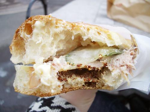 Panino Cubano Innards @ Sullivan Street Bakery