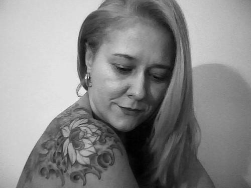 Scorpion Side Tattoo Design