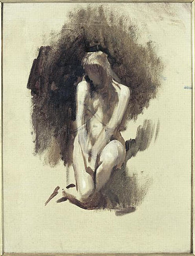 Léon Bonnat (French, 1833-1922) Study of female nude. Musée dOrsay