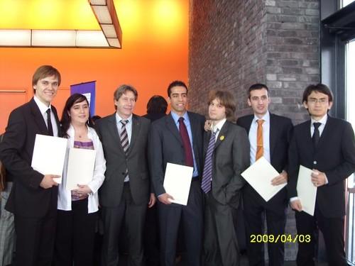 Diplomfeier 2009 FH Offenburg