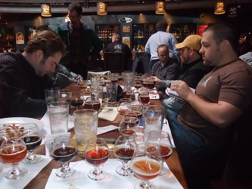 Theres nothing like a bunch of barleywine to get you going before noon.
