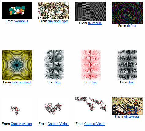 Flickr: The Processing.org Pool