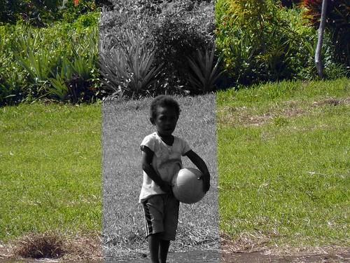 Vanuatu : Ile de Tanna #86 : enfant