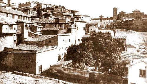 Iglesia de San Lucas (Toledo) a principios del siglo XX