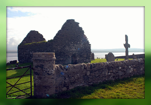 Celtic Cross & Kilnave Chapel, Islay