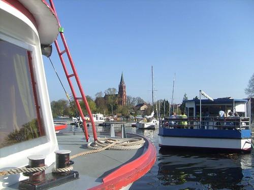 Müritzhafen von Röbel