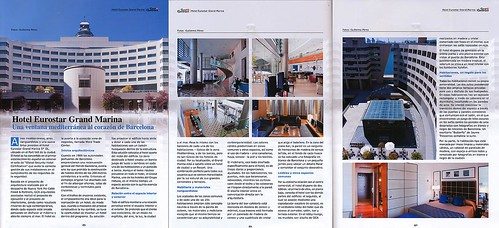 Reportaje en revista Canal Contract · Hotel Eurostars Grand Marina