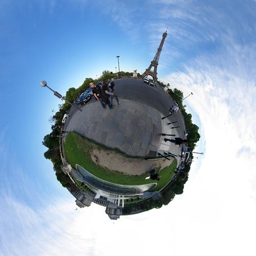 Mini Planeta torre Eiffel