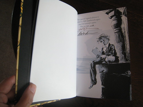 Signed by Neil Gaiman and Dave McKean