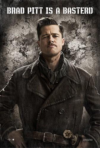 Brad Pitt es un bastardo